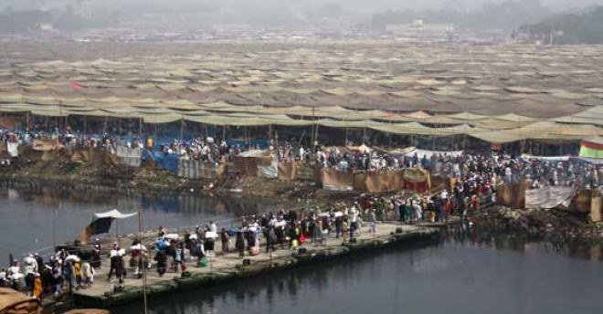 রোববার আখেরী মোনাজাতের মধ্য দিয়ে শেষ হবে ৫০তম  বিশ্ব ইজতেমা