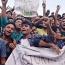ভারতের হার : টিএসসিতে উল্লাস