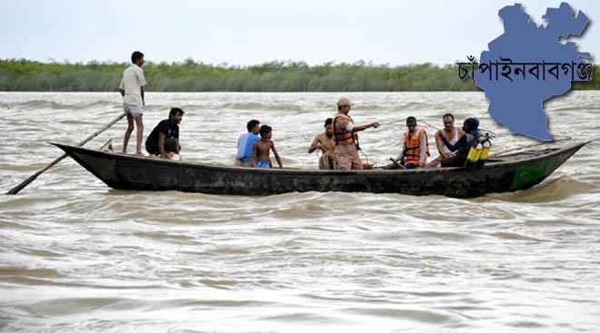 চাঁপাইনবাবগঞ্জে নৌকাডুবিতে ৪ জনের মৃত্যু